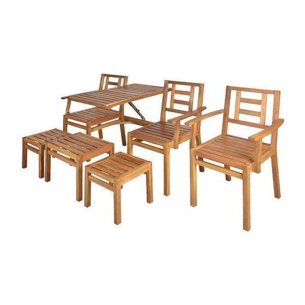 Sestava dřevěného nábytku Seattle
