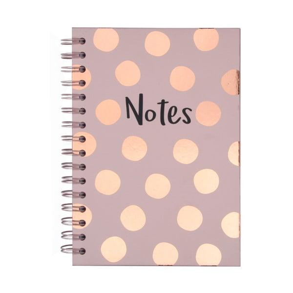 Zápisník Tri-Coastal Design Notes, 120 stránek
