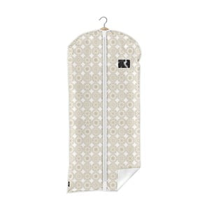 Béžový obal na oblek Domopak Ella, délka135cm