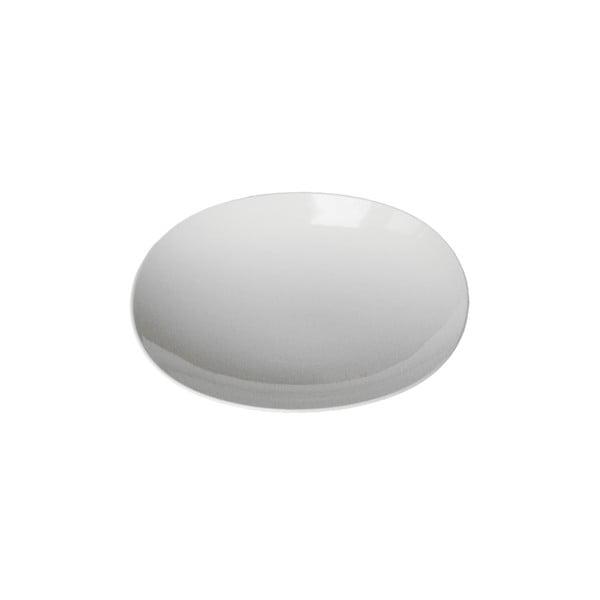 Černý polévkový talíř Entity, 22.2 cm