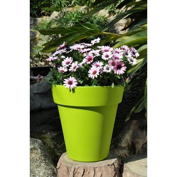 Květináč Samantha 45x45 cm, zelený