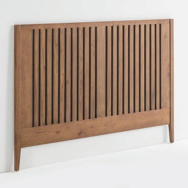 Čelo postele z lakovaného dřeva borovice Thai Natura Showcase, 162 x 110 cm