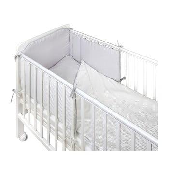 Protecție grilaj pat pentru bebeluși YappyKids Bumper Shades 60 x 60 cm de la YappyKids