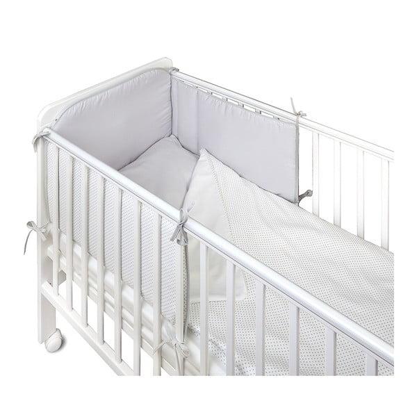 Protecție grilaj pat pentru bebeluși YappyKids Bumper Shades 60 x 60 cm