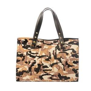 Kožená kabelka Tina Panicucci Spotted Army
