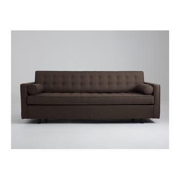 Canapea extensibilă 3 locuri Custom Form Topic maro