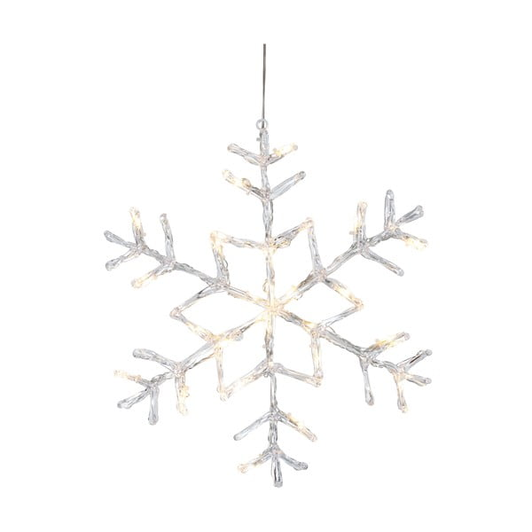 Svietiaca hviezda Best Season Snowflake Silvino, Ø 40 cm