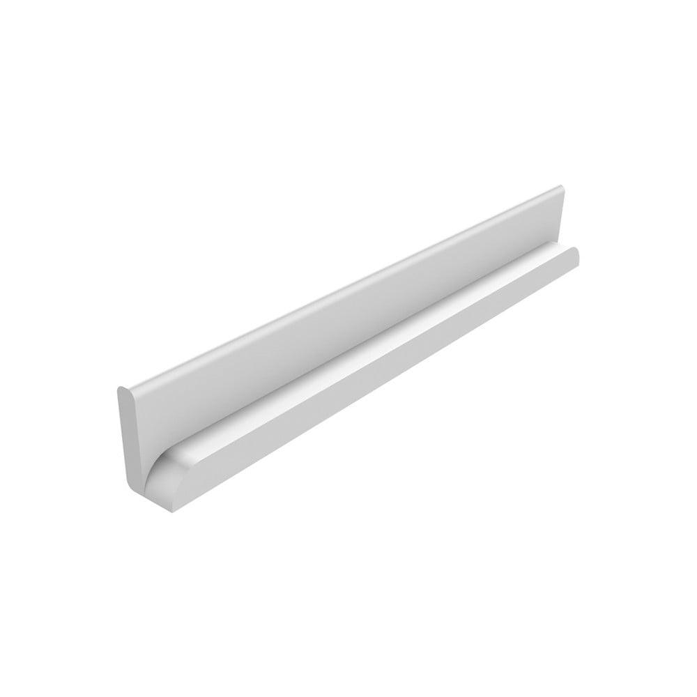 Bílá bezpečnostní lišta Flexa Cabby, délka 34,5 cm