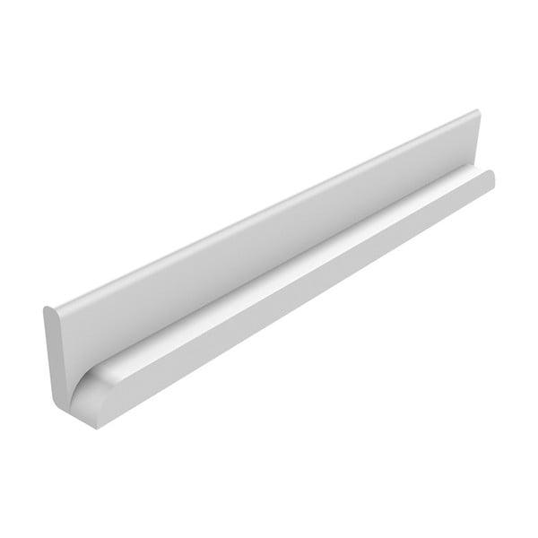 Biela bezpečnostná lišta Flexa Cabby, dĺžka 34,5 cm