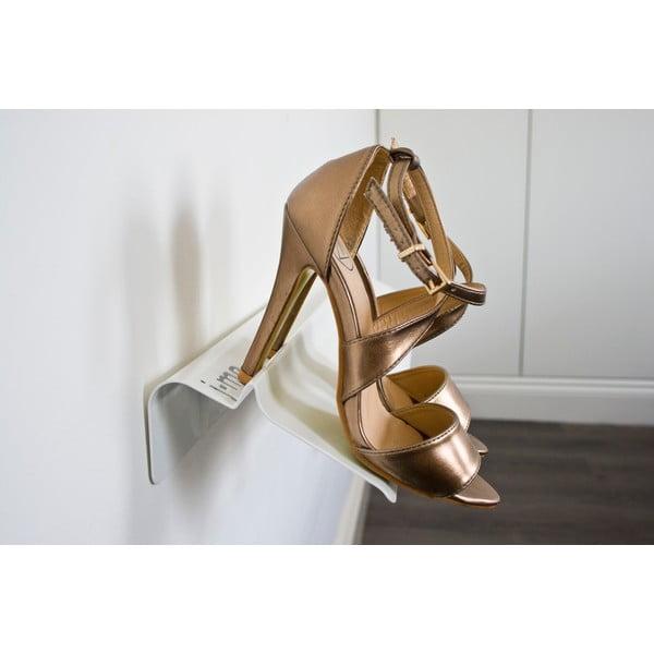 Bílá police na boty J-Me Stiletto, 70 cm