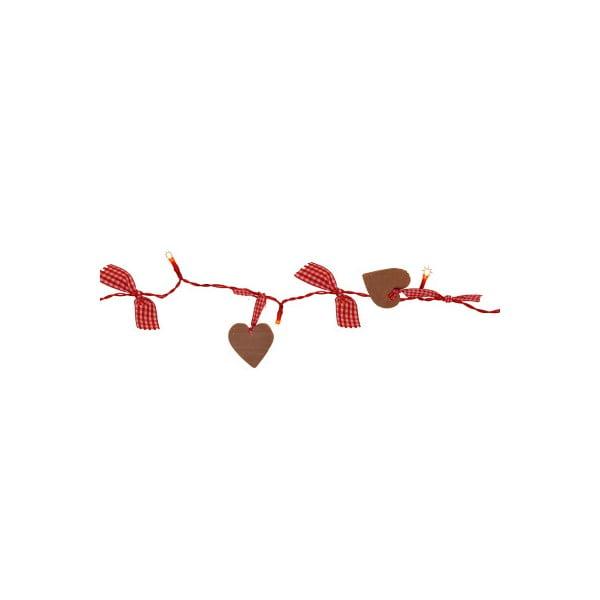 Světelný LED řetěz Best Season Romantic Hearts