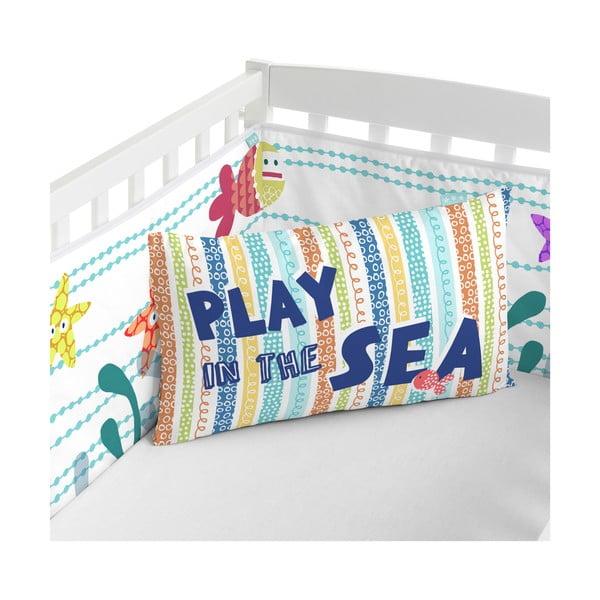 Výstelka do postele Sea Life, 60x60x60 cm