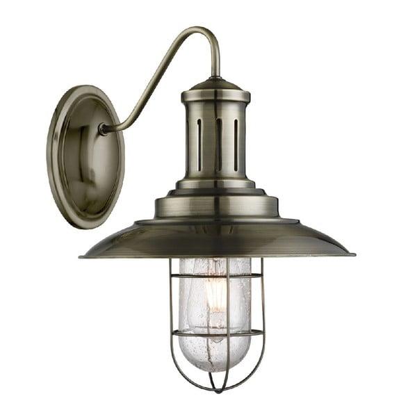 Nástěnné světlo Caged Antique Brass
