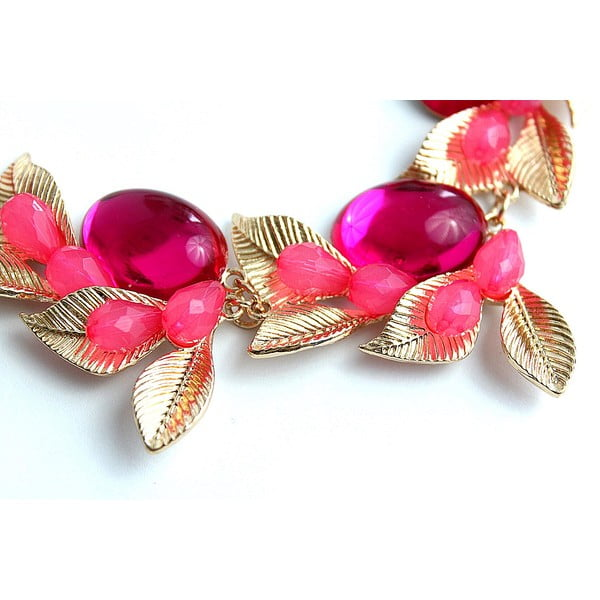 Náhrdelník Pink Flower