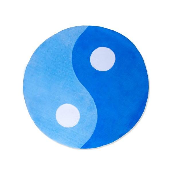 Dětský koberec Beybis Blue Jing Jang, 150 cm