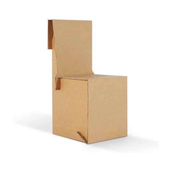 Kartonová židle King Natural