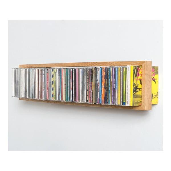 Police na CD z dubového dřeva das kleine b BCD,délka69cm