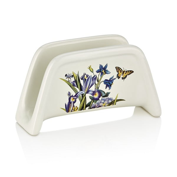 Porcelánový stojan na ubrousky Motýlci