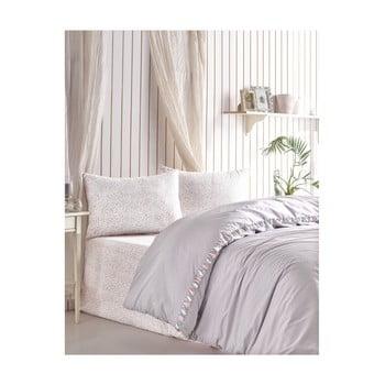 Lenjerie de pat din bumbac Rita, 200x220cm de la Cotton Box