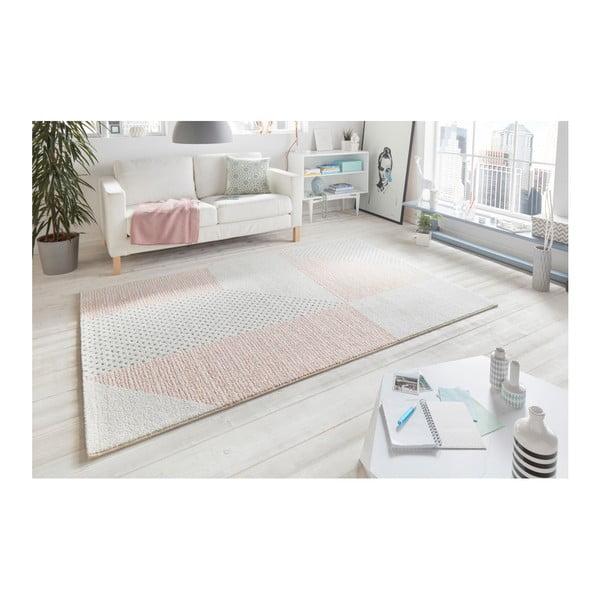 Krémovo-růžový koberec Mint Rugs Madison, 200 x 290 cm