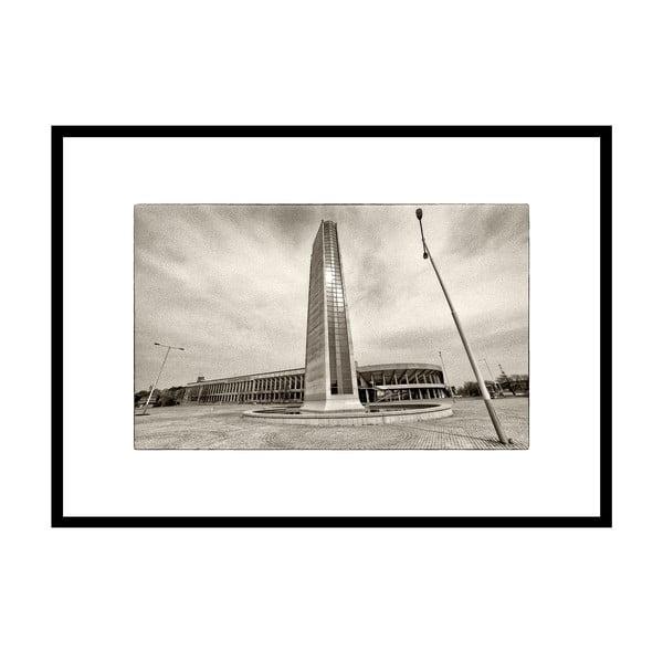 Strahov, autorská fotografie Borise Stojanova (černý rám)