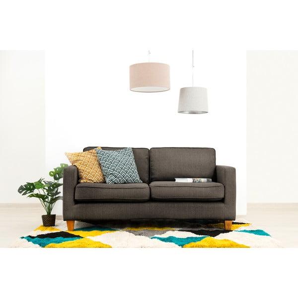 Canapea cu 3 locuri Vivonia Sorio, gri antracit