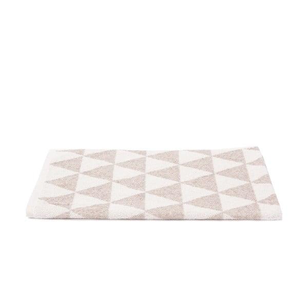 Sada 2 béžovo-bílých froté ručníků Casa Di Bassi Simon, 50 x 100 cm
