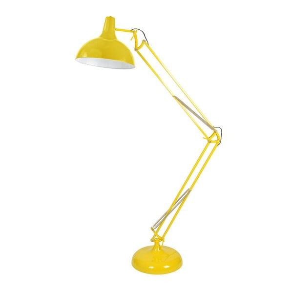 Stojací světlo XXL, žluté