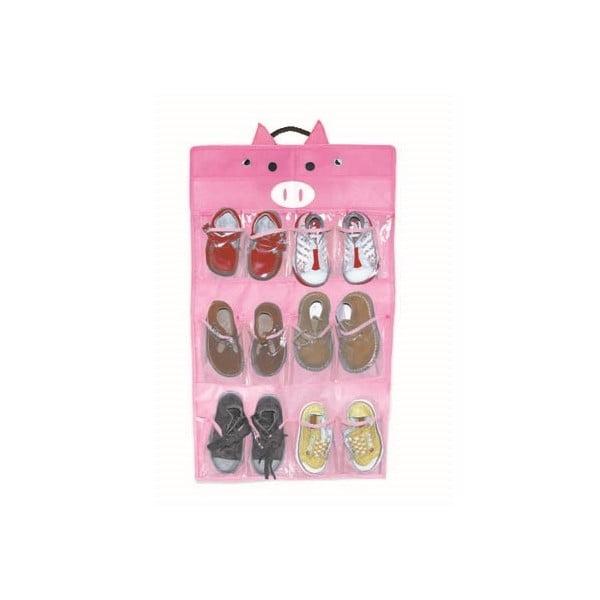 Závěsný úložný box na dětské boty Jocca Pigs