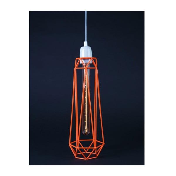 Oranžové stropní svítidlo Filament Style Diamond
