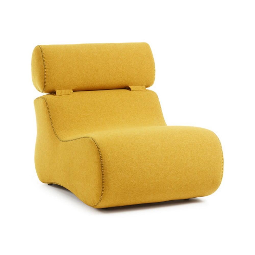 Žluté křeslo La Forma Club