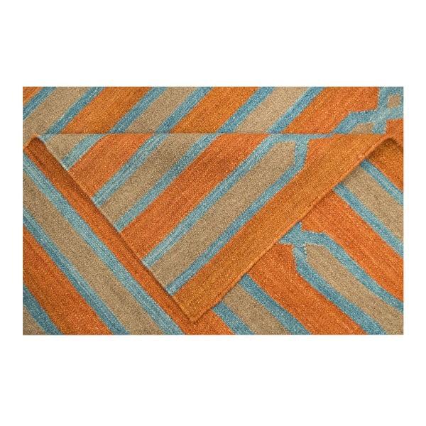Vlněný koberec Kilim 838, 120x180 cm