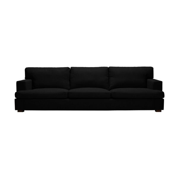 Černá trojmístná pohovka Windsor & Co Sofas Charles