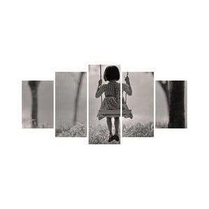 Vícedílný obraz Black&White no. 16, 100x50 cm
