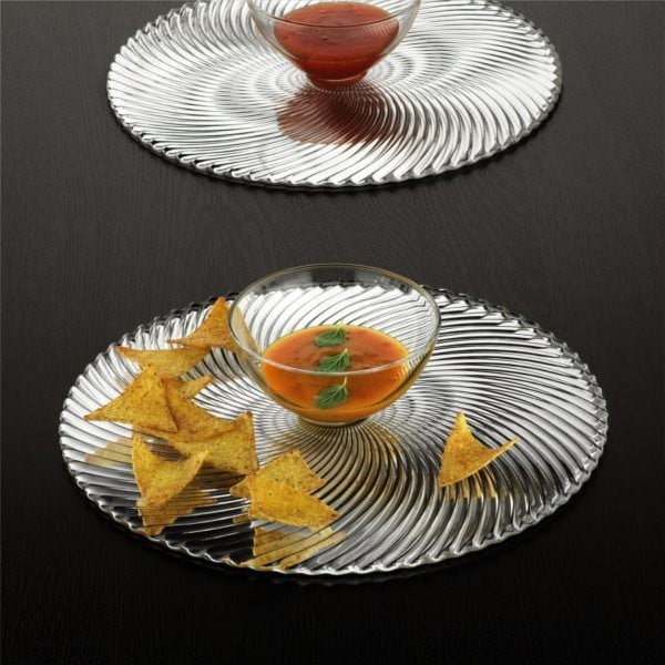 Set 2 talířů Dancing Stars - Samba, 23 cm