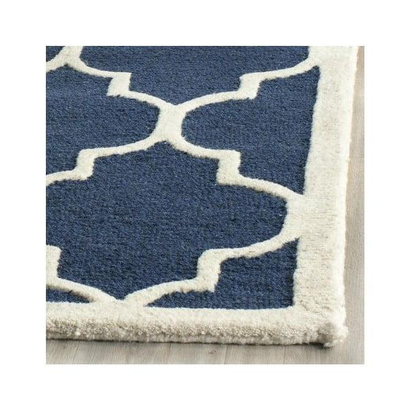 Koberec Everly 152x243 cm, modrý
