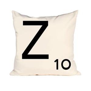 Písmenkový polštář Letra Z, 50x50 cm