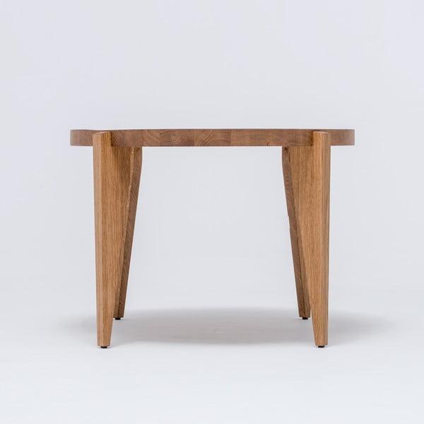 Dubový kávový stolek Bontri, 120x44 cm