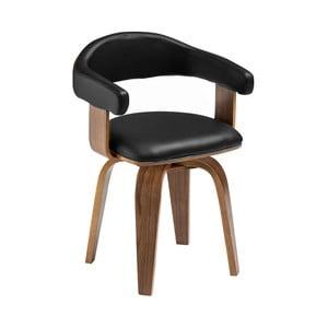Černá židle Premier Living Bentwood