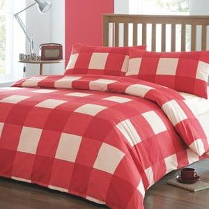 Povlečení Newquay Red, 135x200 cm