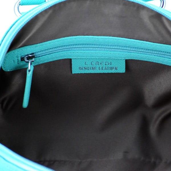 Kožená kabelka Paula Aqua