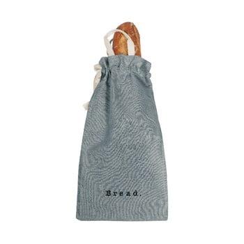 Săculeț textil pentru pâine Linen Couture Bag Blue Sky, înălțime 42 cm imagine