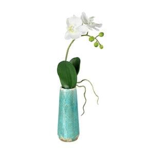 Umělá květina ve váze Orchidej