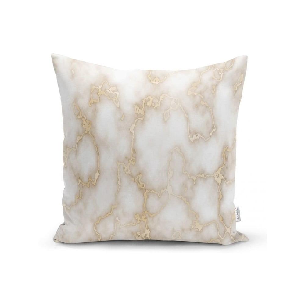 Povlak na polštář Minimalist Cushion Covers Golden Lines Marble, 45 x 45 cm