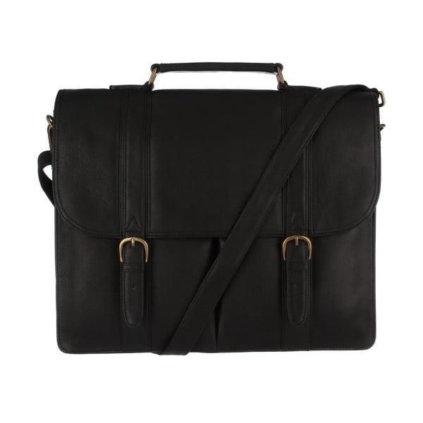 Kožená pánská taška Terrence Black