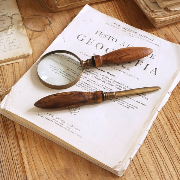 Sada lupy a nože na dopisy Magnifying Letter