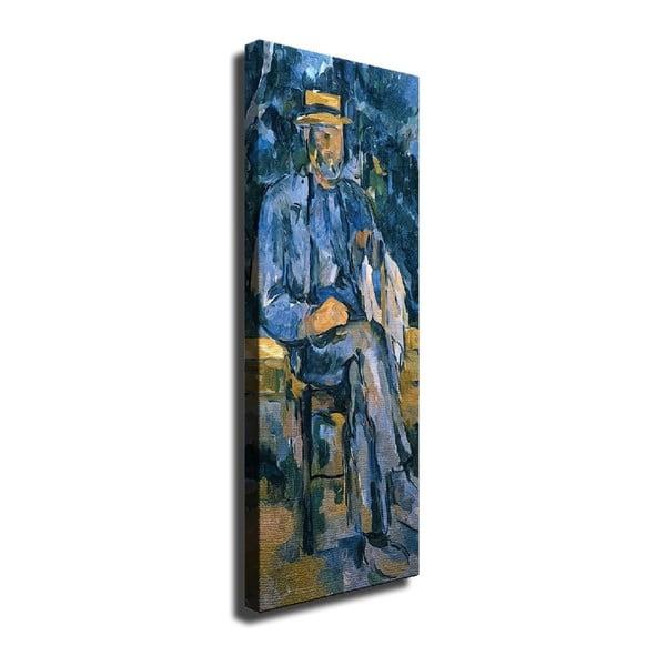 Vászon fali kép Paul Cézane másolat, 30 x 80 cm