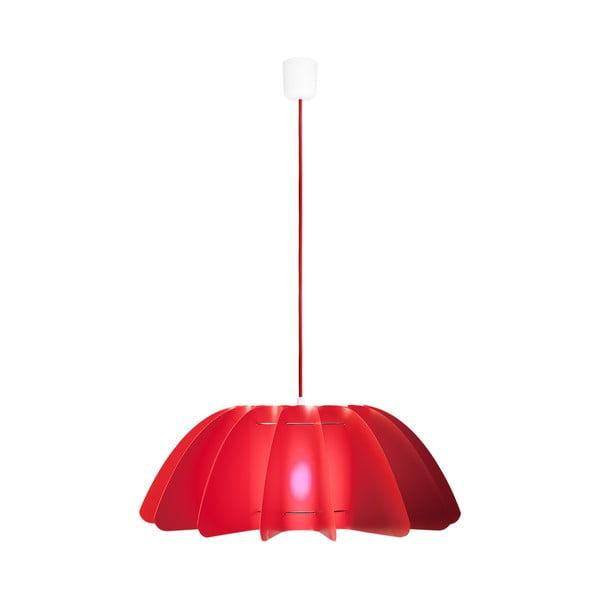 Závěsné svítidlo Primrose red/red