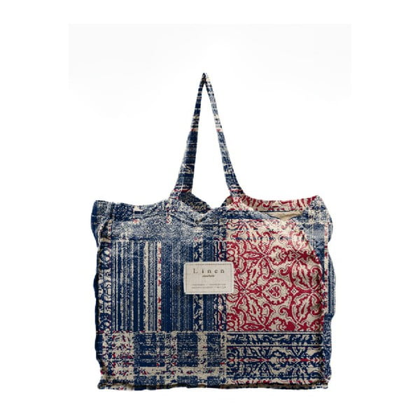 Geantă textilă Linen Batik, lățime 50 cm