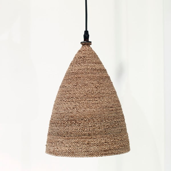 Závěsné svítidlo Rotanlamp Conisch, 23x34 cm